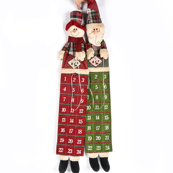 Christmas Nativity Large Fabric Advent Calendar Countdown 102cm(China (Mainland))