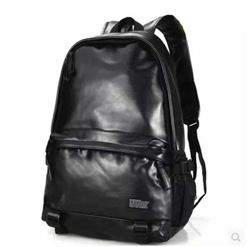 2015 backpack Campus style women and men pu leather Backpacks laptop Bag ladies girls school shoulder tablet bags<br><br>Aliexpress
