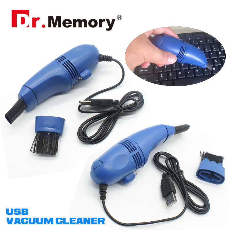 High quality Portable Computer Vacuum Mini USB Keyboard Cleaner Laptop computer Brush Dust Cleaning color random(China (Mainland))