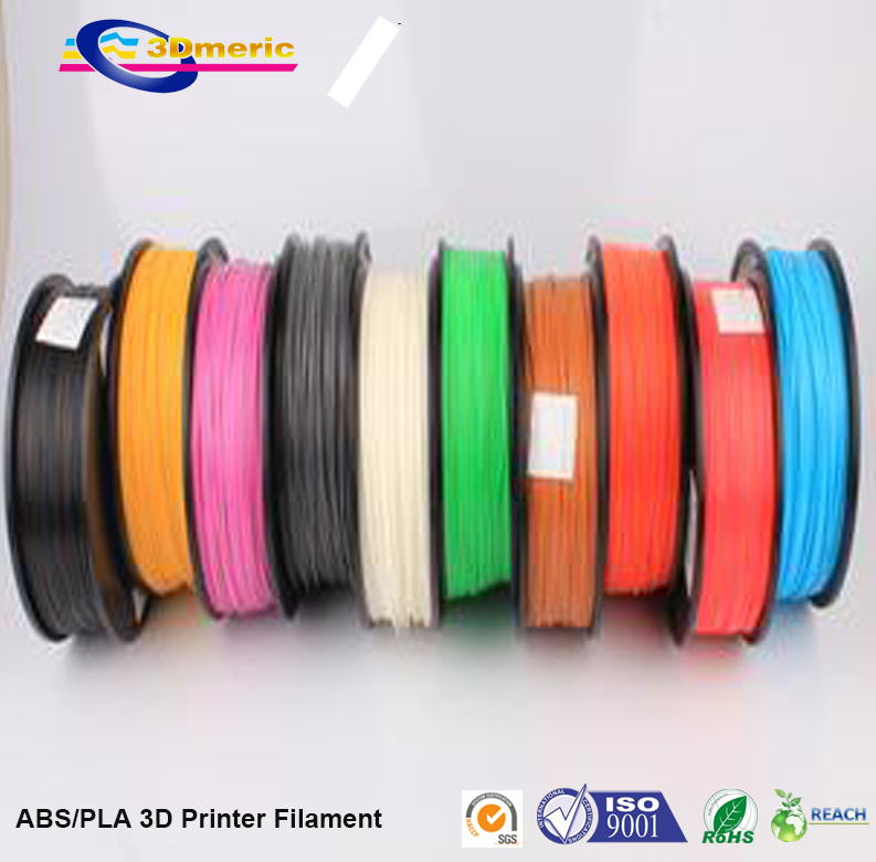 3d printer filament white color dual extruder 3mm abs filament printer 3d parts for createbot makerbot