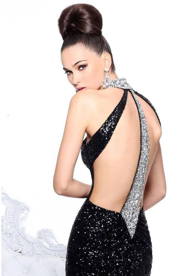 Open Back Party Dress