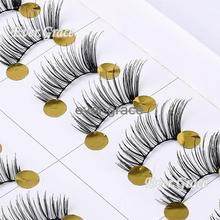 Makeup 10 Pairs Mini Corner Lashes Half False Eyelahes Accent Lengthen Eye Lash