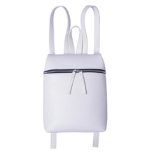 Simple Style Designer Small Backpack Women White and Black Travel PU Leather Ladies Backpacks Fashion Female Rucksack bag XA867B(China (Mainland))
