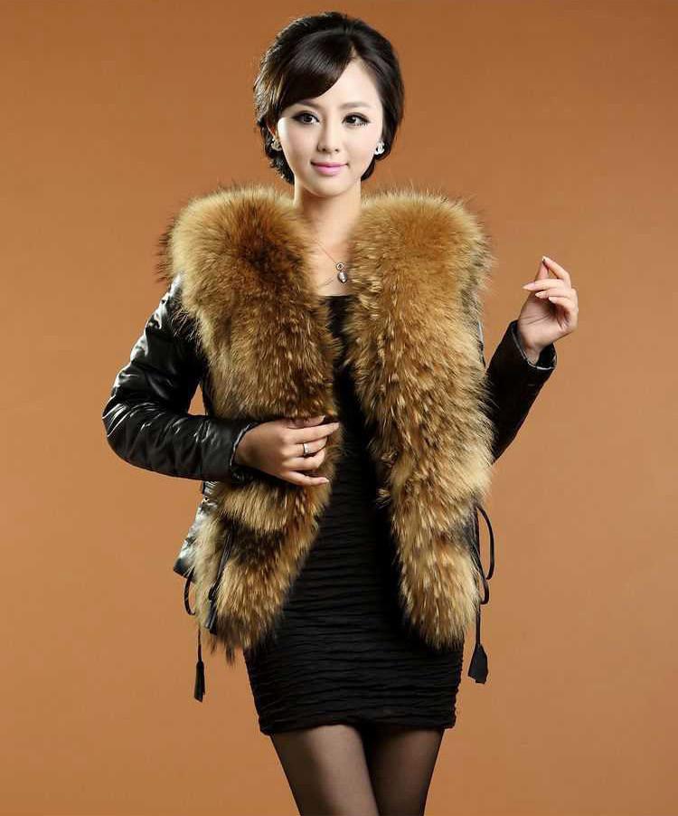 Женская одежда из меха s/xl F1287 женская одежда из меха cool fashion saias s xxxl tctim06270001