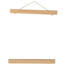 Wooden Magnetic Poster Frame Canvas Hanger Home Decoration Minimalist(China)