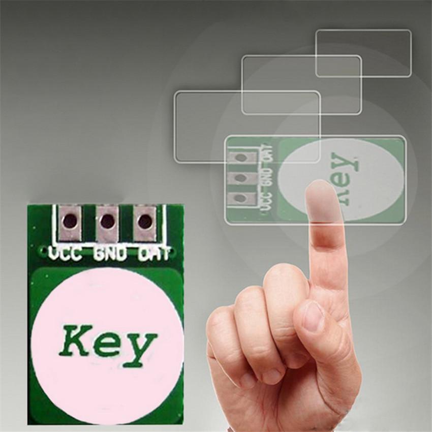 1Pcs Capacitance Touch Sensor Capacitive Switch Button Module(China (Mainland))