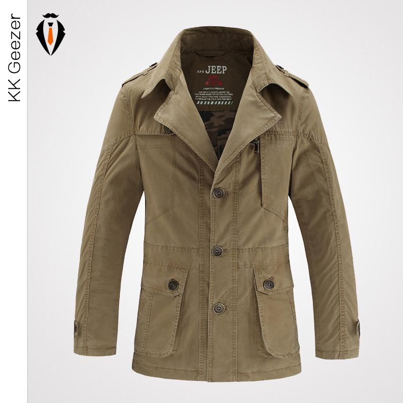 Buy 6XL Military Brand Coat Men 2016 Autumn Winter Cotton ...