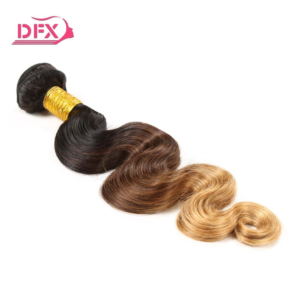 1B/4/27 Brazilian Virgin Hair Body Wave 100g Ombre Brazilian Hair HJ Hair Brazilian Virgin Hair Bundles Ombre Free Shipping<br><br>Aliexpress