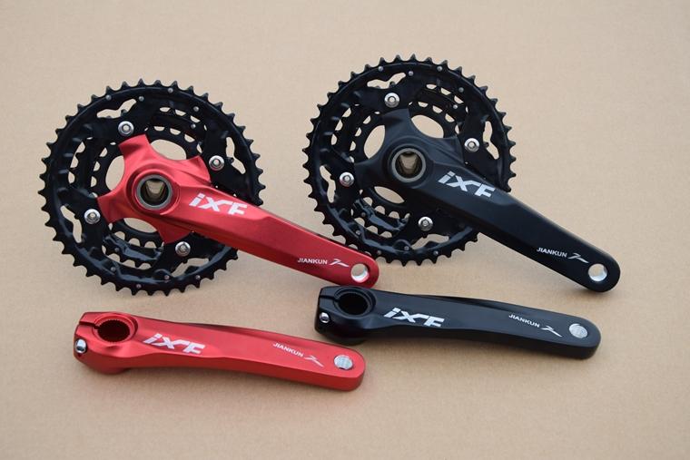 Mountain bike 27speed/30speed  tooth plate FC- M4050 hollow crankset/Mountain bike chainwheel/mtb crankset 42-32-24T (170MM)<br><br>Aliexpress