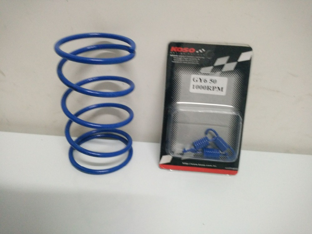 Chinese Scooter Torque Spring Performance Clutch Springs 1000RPM font b GY6 b font 50cc 139QMB