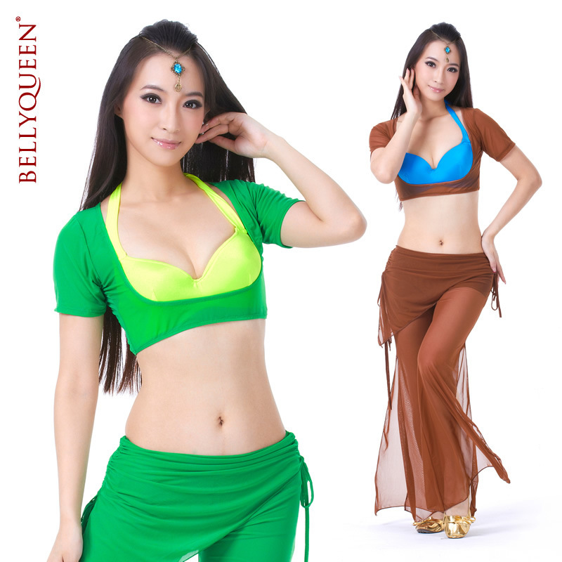 2015 Real New Arrival Women Polyester belly dance trousers bellydance pants belly dancing tribal pants(China (Mainland))