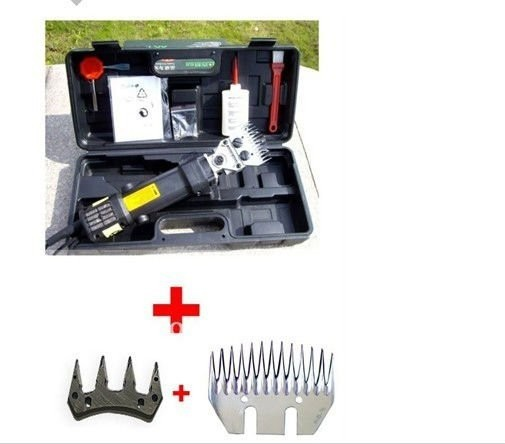New 350W Electric Sheep / Goats Shearing Clipper Shears +straight tooth blade + comb(China (Mainland))