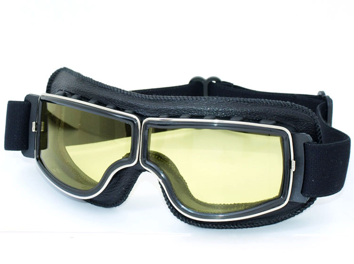 2015 NEW Hot Aviator Pilot Cruiser Cycling Bicycle Motorcycle Goggles  Glasses Eyewear Black Frame <br><br>Aliexpress