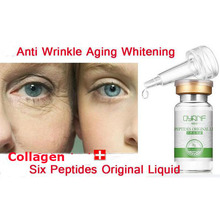 QYF Argireline Liquid Six Peptides Serum For Striae Anti-Wrinkle Cream Anti Aging Collagen Rejuvenating Face Lift Skin Care