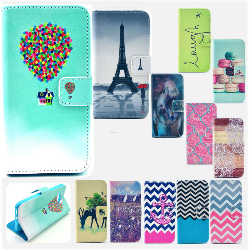 2015 Arrival Apple iPhone 4 4S Cell Mobile Phone Case Cover Fashion Cartoon Colorful Flip Leather Wallet - IVCASE store