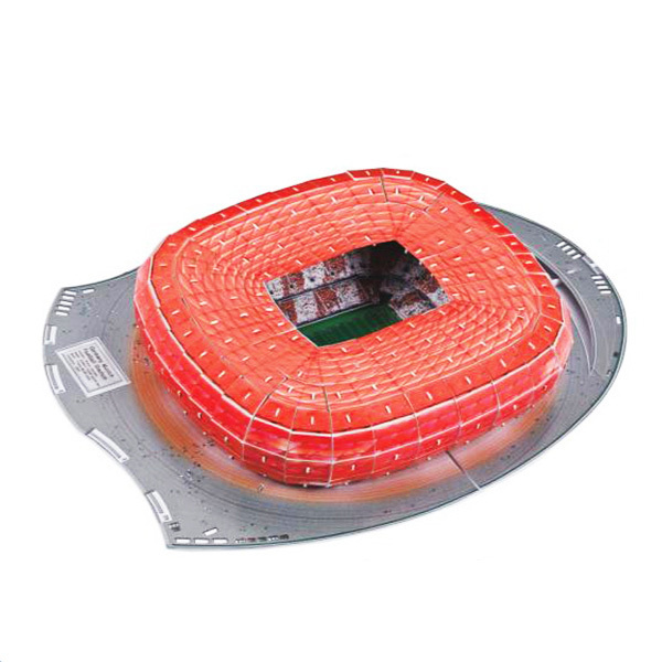 3D Jigsaw Puzzle - Germany Bayern Munchen Allianz Arena Football Stadium Free Ship(China (Mainland))