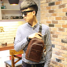 New fashion style men shoulder messenger bags vintage chest Bags cross body bag outdoor hiking sports bag Free shipping