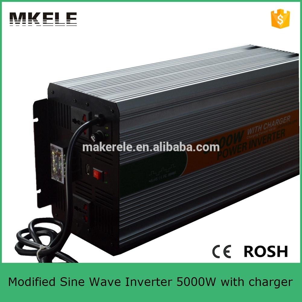 MKM4000-242G-C universal socket high power 4000watt power inverter 24vdc 220vac power converter for car with battery charger(China (Mainland))