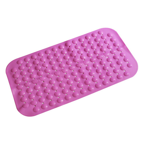 Aqua Suction Grip Rubber Bath Mat with Cosy Bubble Foot Grip Bathroom Floor Non-slip Mats To Suck Bathroom Non-slip Mat(China (Mainland))