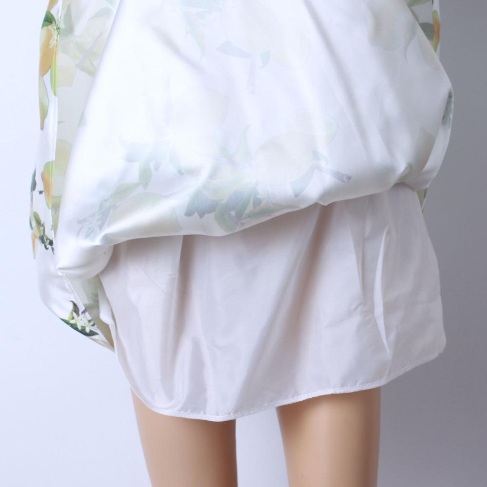 HTB1Mp9vQFXXXXaiXFXXq6xXFXXXb - GOKIC 2017 Summer Women Vintage Retro Satin Floral Pleated Skirts Audrey Hepburn Style High Waist A-Line tutu Midi Skirt