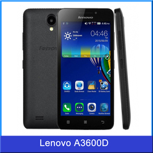 2015 New Original Lenovo A3600D 4.5 inch Mobile Phone MTK6582 Quad Core 1.3GHz Android 4.4 Smartphone 4G FDD-LTE & WCDMA & GSM