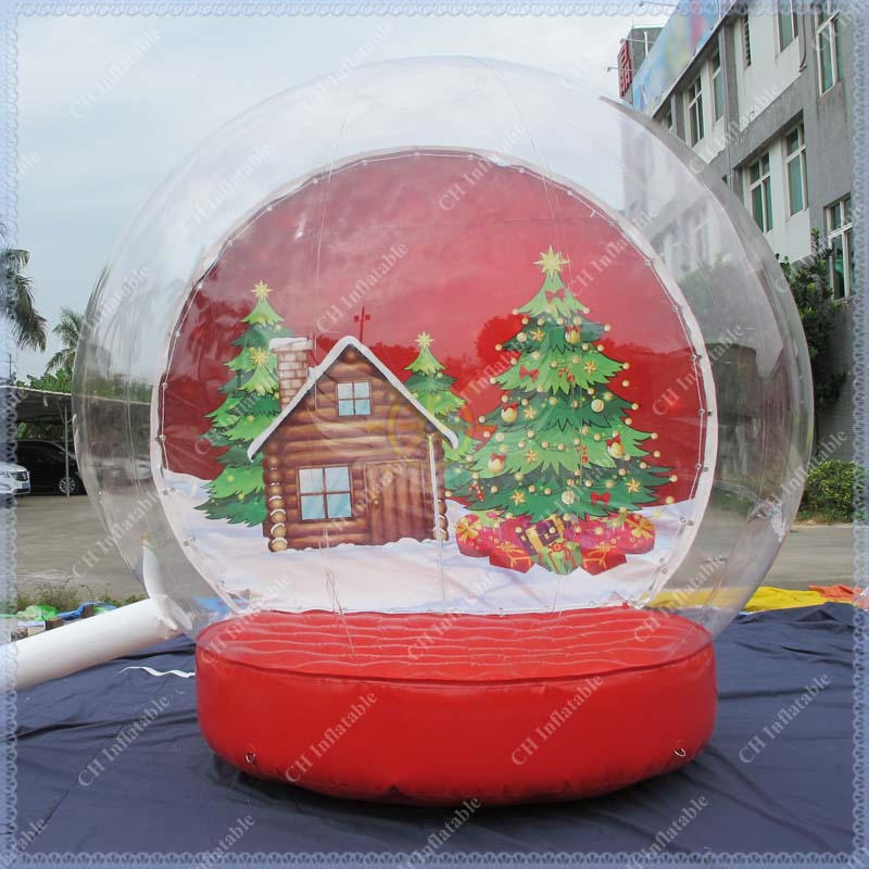 Outdoor christmas decorations snow globe china for Outdoor christmas globes