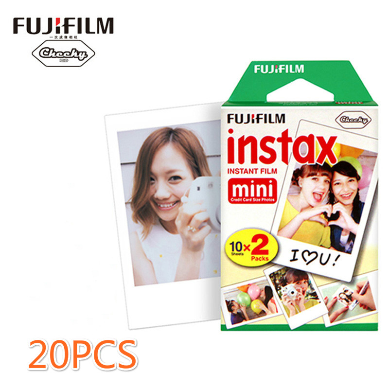 Fujifilm/ mini8/7s/25 20 white side of Fuji Polaroid paper Lomo mini film film<br><br>Aliexpress