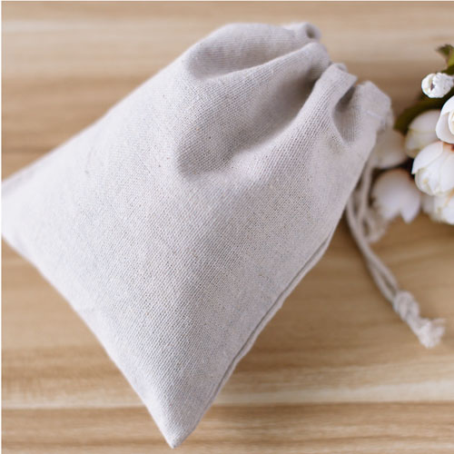 "Linen Gif tBags 10cmx15cm(4""x6"") Natural Muslin Cotton Pouches Wedding Party Favor holders(China (Mainland))"