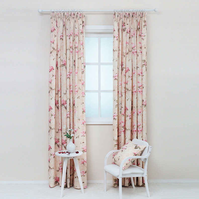 New arrival curtains fabric blinds modern window blackout curtains for