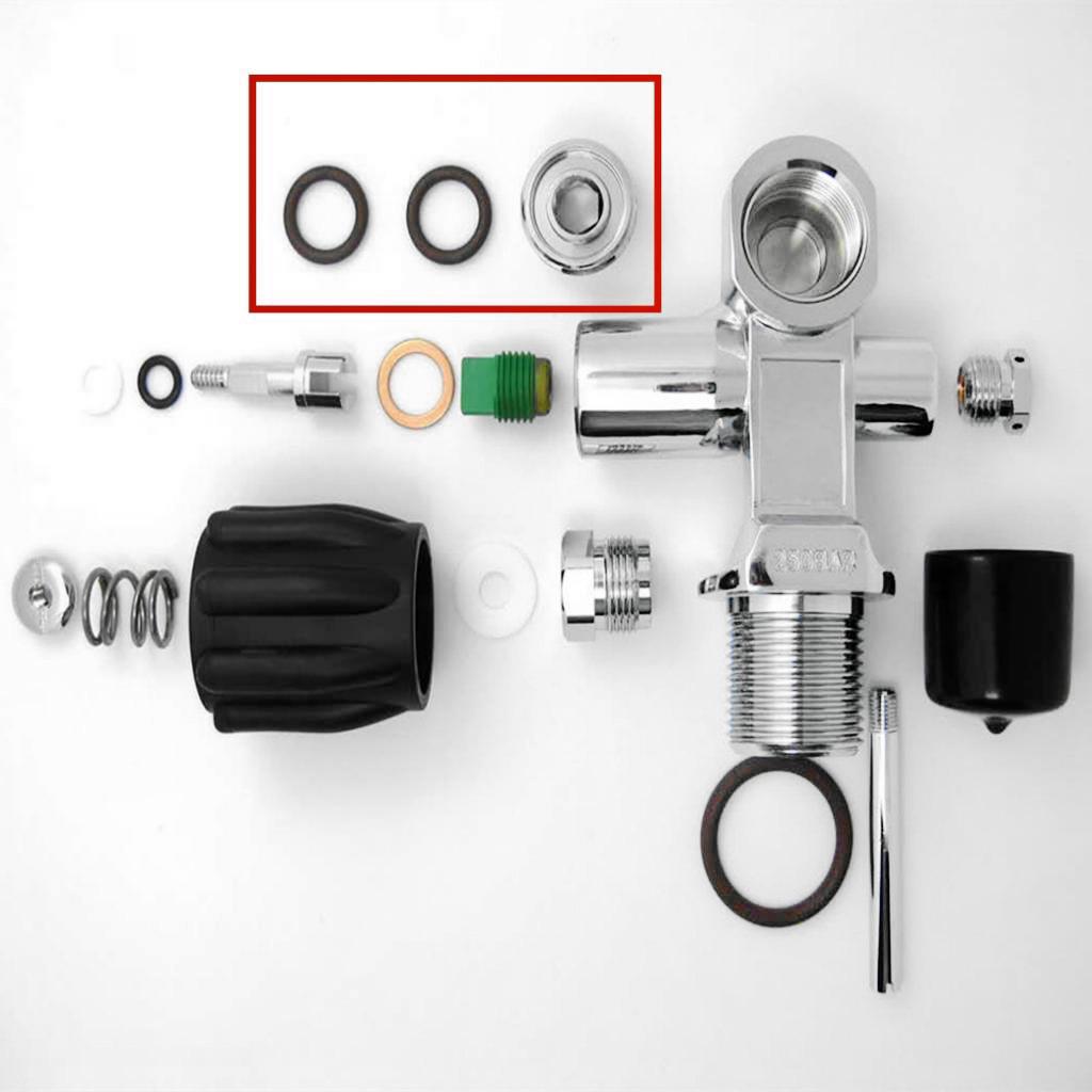 Diving Dive Din to Yoke Insert Convert Adapter Valve G5/8 Thread Valve Outlet DIN Plug Adapter Regulator Convertor Adaptor