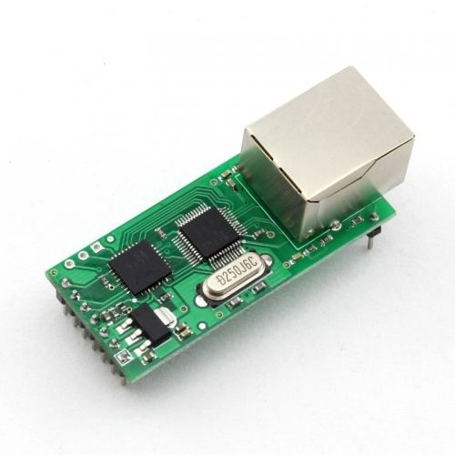 F00130 1PC RS232 Serial to Ethernet Module Tcp Ip UDP Network Converter Module TTL Lan Module with RJ45 Port(China (Mainland))