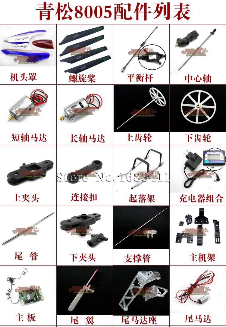 Electric rc Helicopter Parts Electric rc Helicopter