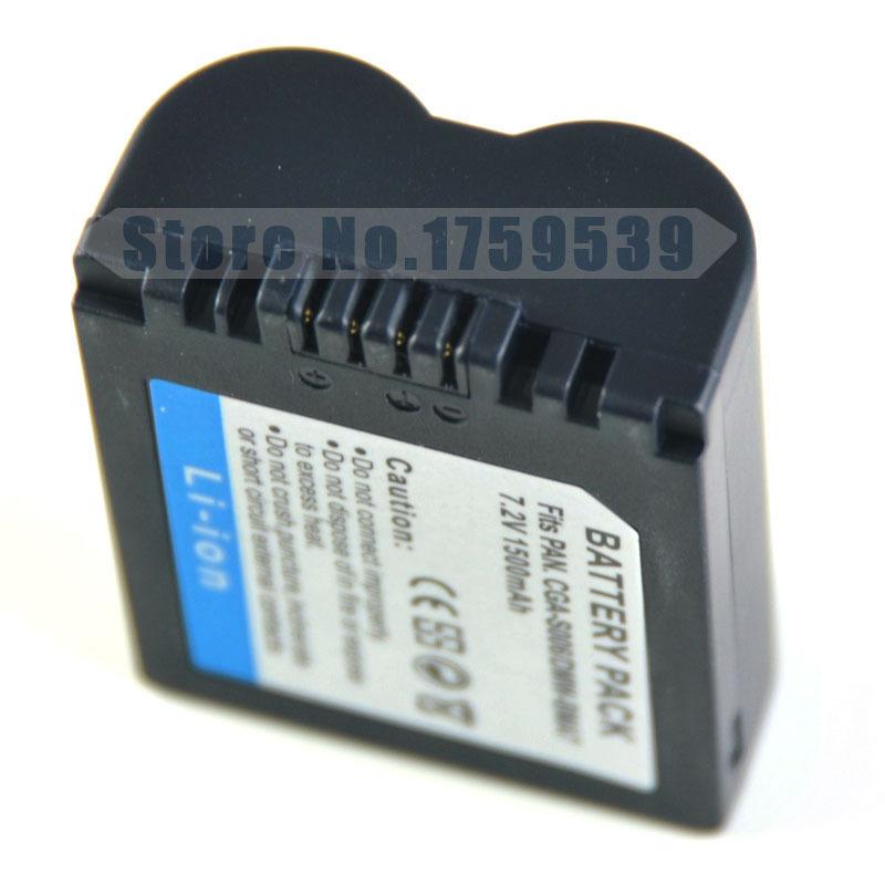 1500mAh CGA S006 CGR CGA S006E S006 S006A DMW BMA7 DMW BMA7 Battery for Panasonic DMC