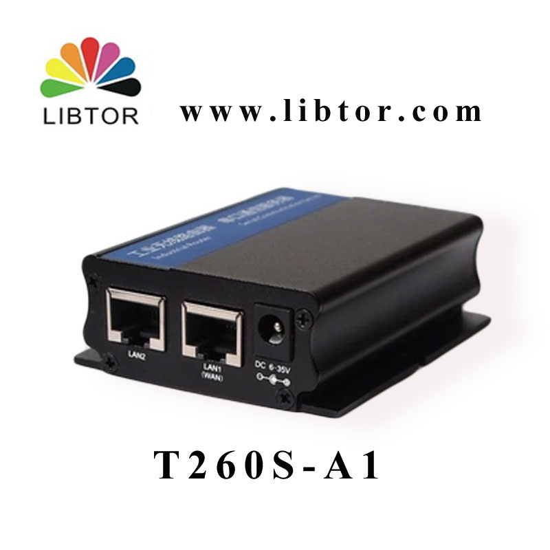 Industrial 3G router Libtor T260S-A1 with WCDMA/HSDPA/HSUPA/HSPA+ and support VPN,Firewall, PPTPclient, L2TPclient functions(China (Mainland))