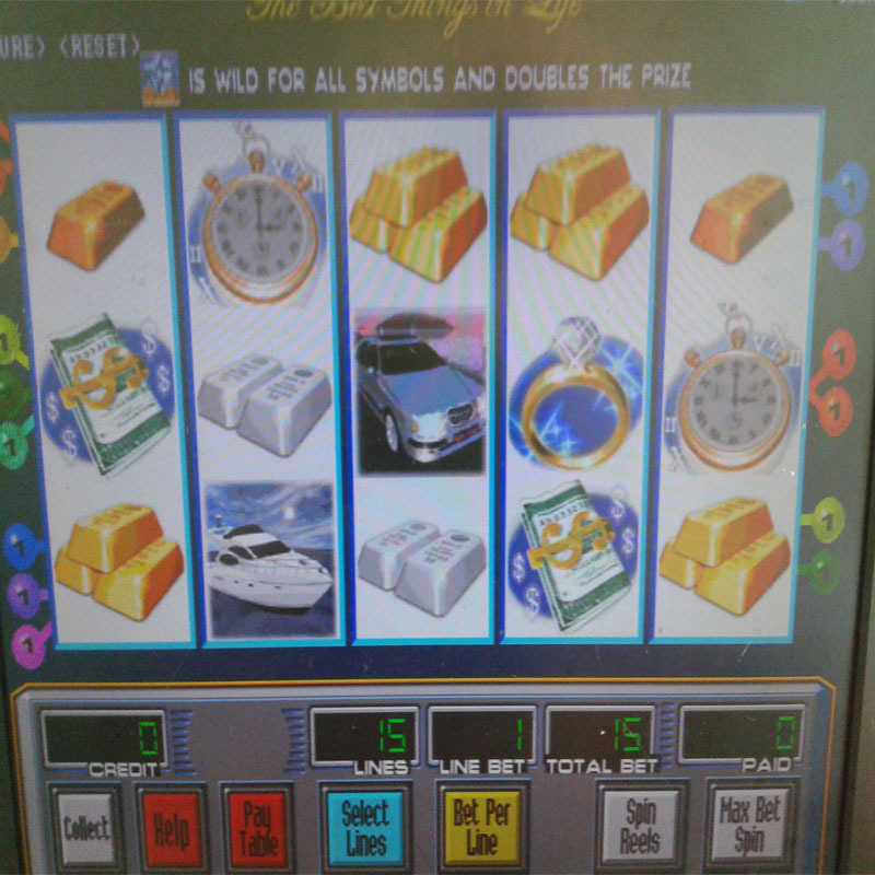 luxury express slot game play