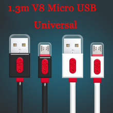 Buy 1.3m/4ft Universal Micro USB USB 2.0 B 2A Data Sync Fast Charger Cable Cord Samsung LG HTC HUAWEI Nokia Android Phones for $1.31 in AliExpress store