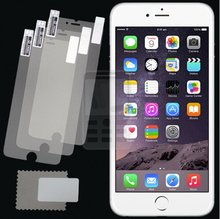 3pcs/lot CLEAR 0.125mm PET Screen Protector for Apple iPhone 6 Plus