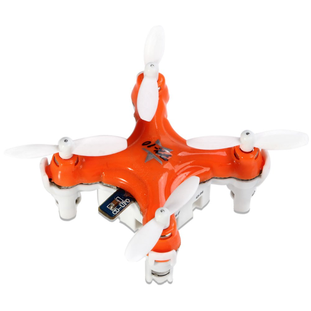 New Floureon FX - 10 Quadcopter 4-CH 2.4GHz 6-Axis Gyro Aircraft Colorful LED / 3D Rollover RC Helicopter RTF Mini Drone toys