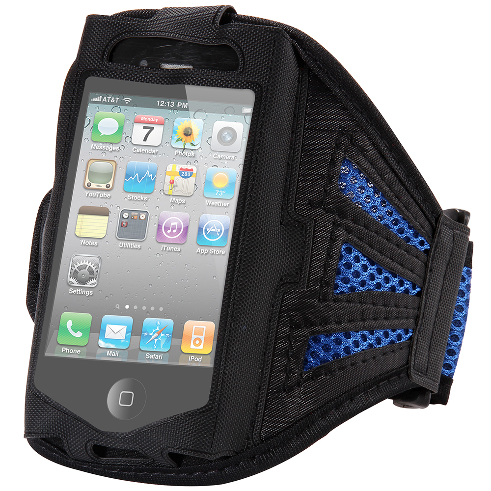 4s Adjustable Running SPORT GYM Armband Bag Case for apple iPhone 4 4S 4G Waterproof Jogging Arm Band Mobile Phone Premium Cover