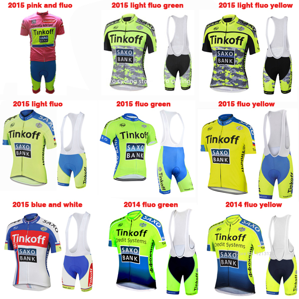 new saxo summer style cycling jersey tinkoff saxo bank mtb ...