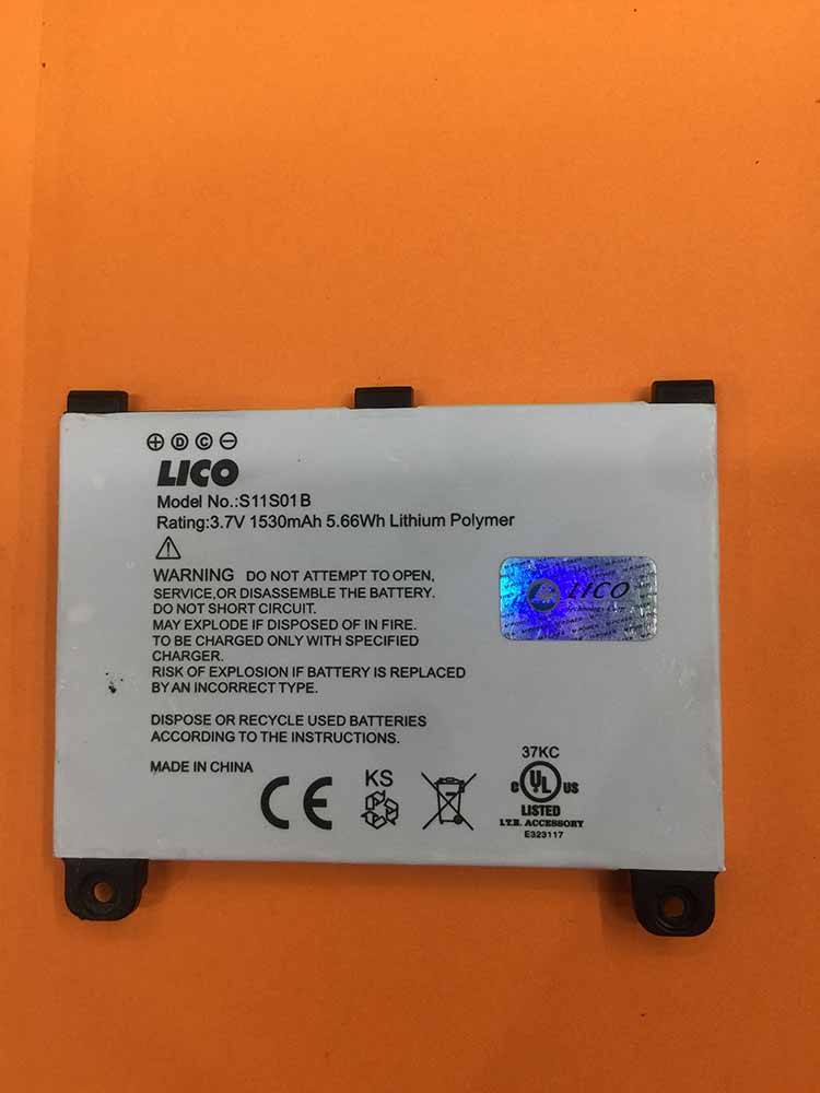Newest Arrival Factory Price Battery For LICO S11S01B 3.7V 1530mAh Phone Accumulator FOR S11S01B Replacement Battery