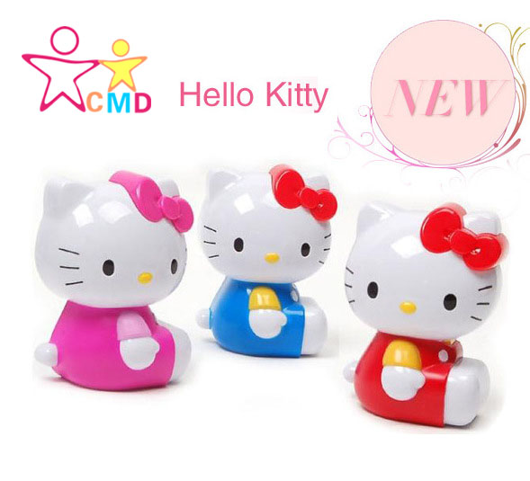 Car perfume perfume vehicle with Hello Kitty outlet KT cat diamond air conditioning Balm(China (Mainland))