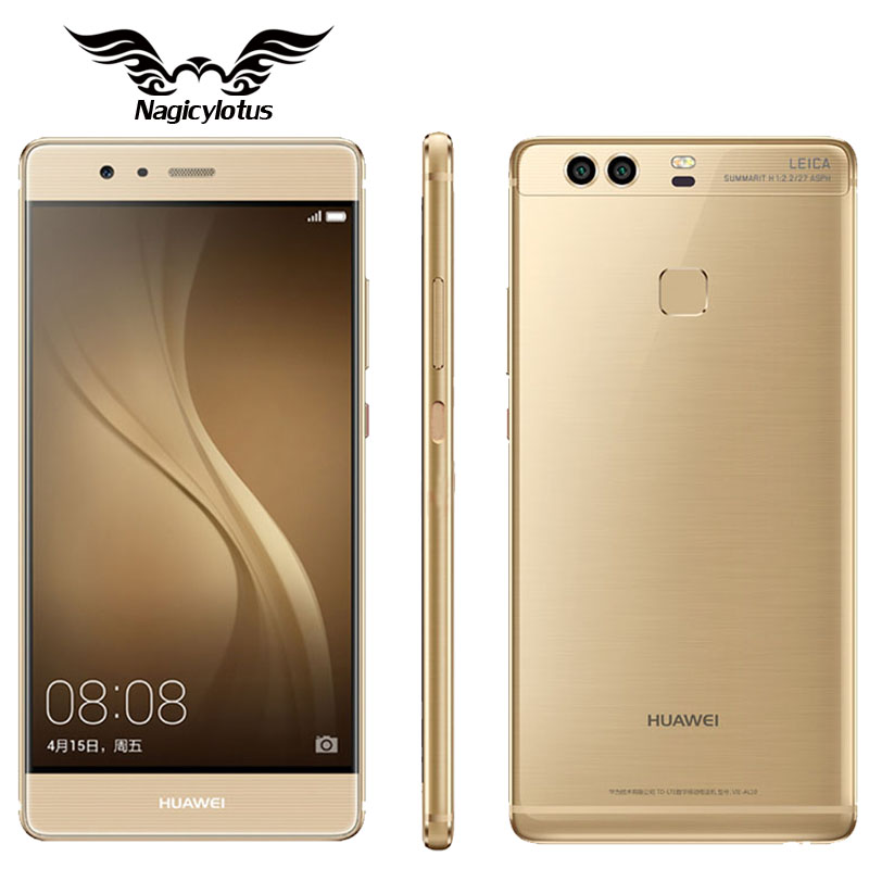 Original Huawei P9 Plus VIE-AL10 4GB RAM 128GB/64GB ROM Cell Phone Android 6.0 Kirin 955 Octa Core 5.5 inch Dual SIM LTE 12.0MP(China (Mainland))