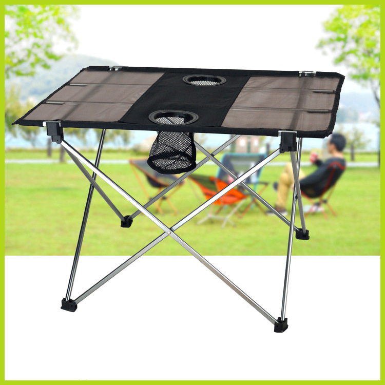 0.8Kg New Ultra-light Aluminium Alloy Portable Foldable Folding Table Desk Camping Outdoor Picnic Travel Fishing Free Shipping(China (Mainland))