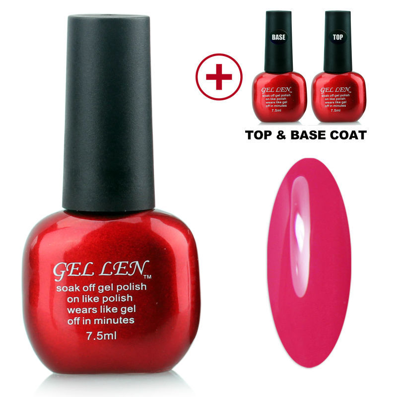 Gel Len Hot Sale Nail UV Gel Polish 240 Colors Gel Choose any 1 Color with Top and Base Gel Polish <br><br>Aliexpress