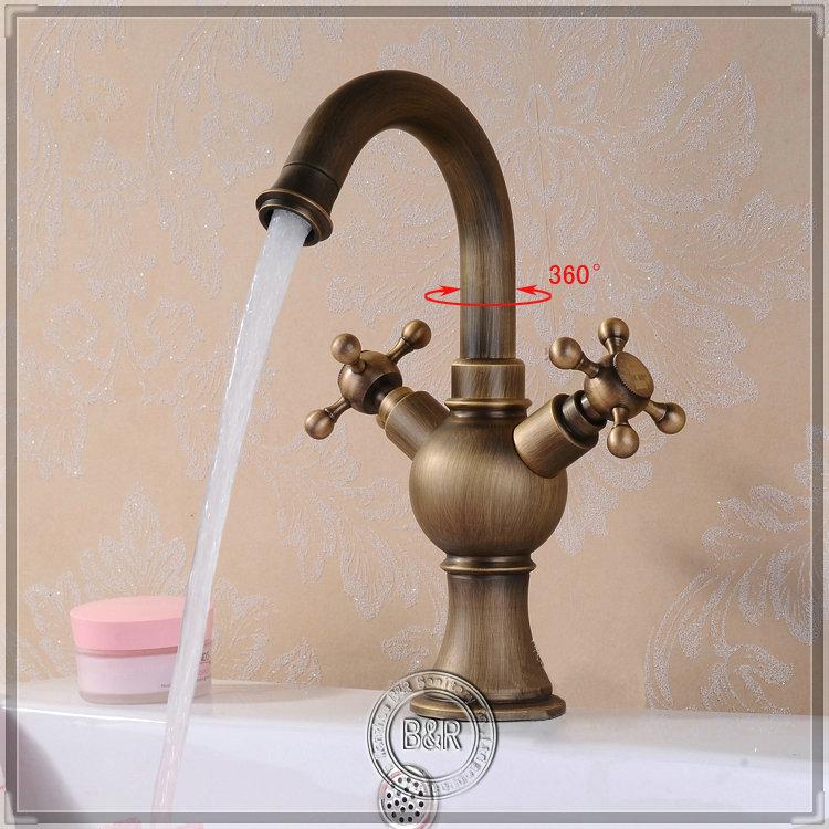 B R Fitting Luxury Decoration Bathroom Basin Sink Antique