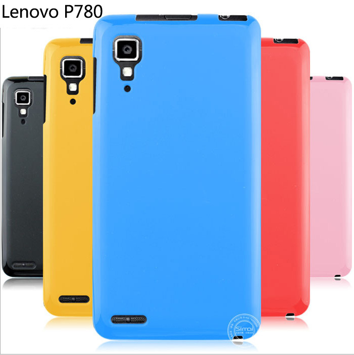 Soft Silicone Case Cover Lenovo P780 Crystal Skin Back Cove 6 color 1 Piece - My UU shop store