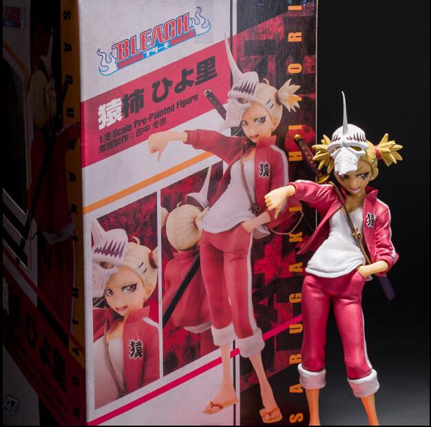 18cm New Cartoon Bleach Hiyori Sarugaki PVC Action Figures Collectible Model Toys<br><br>Aliexpress
