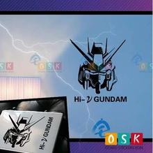 Japanese Cartoon Fans SEED HI-2 GUNDAM Vinyl Wall Stickers Decal Decor Home Decorative Decoration