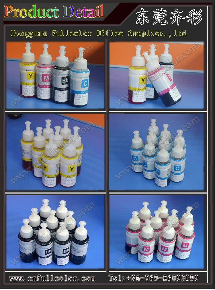 T6721 - T6724 4 Colors Refill Inkjet Dye Based Ink for Epson L558 / L565 / L551 Desktop Printer<br><br>Aliexpress